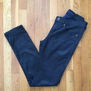 ROCK & REPUBLIC Berlin Skinny Jeans Black 8 Slim